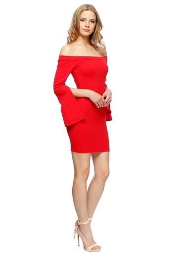 Missguided Elbise Kırmızı